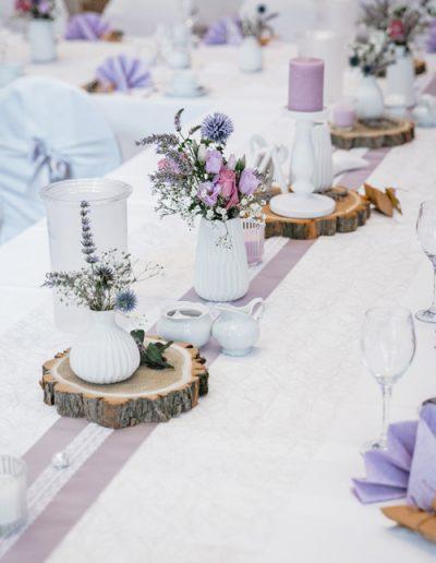 Hochzeitsdekorationen - Tischläufer
