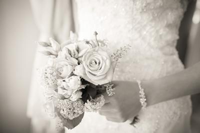 saisonaler Brautstrauß