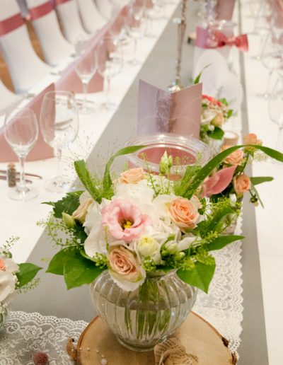 Hochzeitstafel vintage